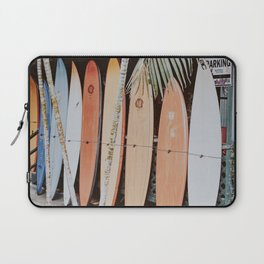 lets surf ii Laptop Sleeve