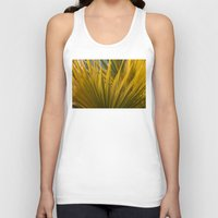 palm Tank Tops featuring Palm by Moonworkshop