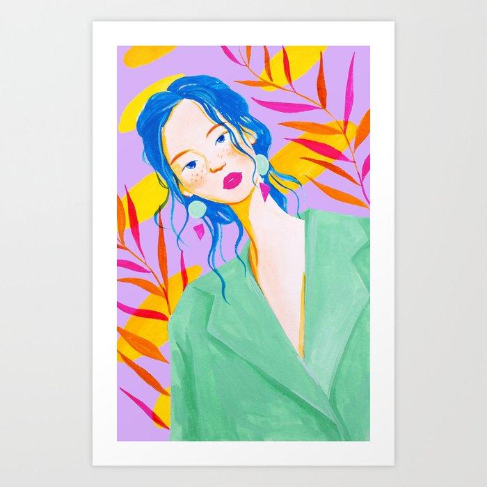City Girl Art Print
