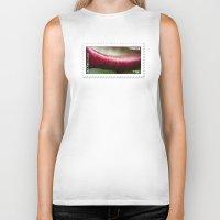 lip Biker Tanks featuring The Lip by fotoGN