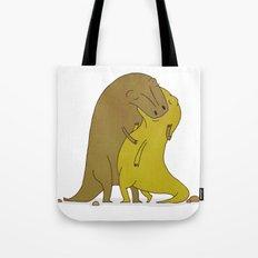 tyrannosaurus sex Tote Bag