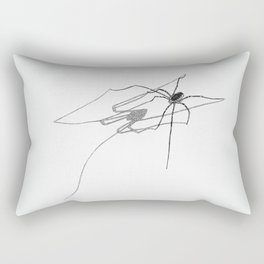 Daddy-longlegs Rectangular Pillow