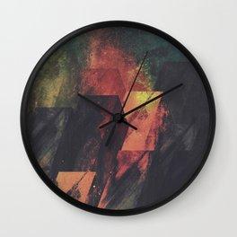 Tantrums Wall Clock
