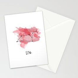 Leo - fire element Stationery Cards