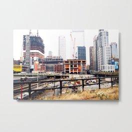 High Line Metal Print