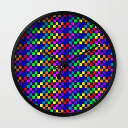 Pixel Wall Clock