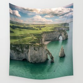 Elephant cliffs Wall Tapestry