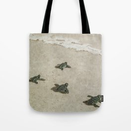The Journey Begins by Teresa Thompson Tote Bag