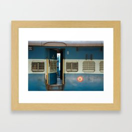 India railway print Framed Art Print