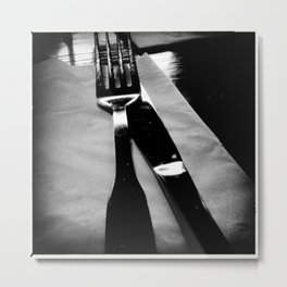 Jack the Knife Metal Print