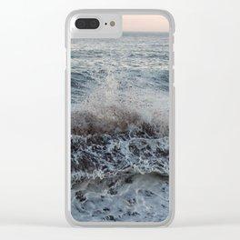 Ocean Splash Clear iPhone Case