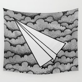 fly like paper Wall Tapestry