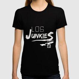 los junkies del barrio T-shirt