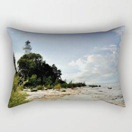 Cana Island Light Rectangular Pillow