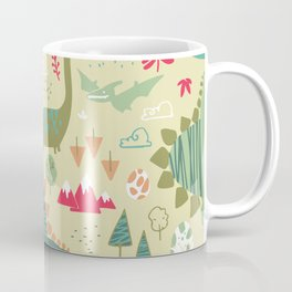 Dino Soup Coffee Mug