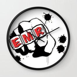 EMR Crew Tee Original Logo Tee Wall Clock