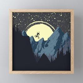 Drop No Hander Framed Mini Art Print