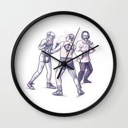 Freud, Jung, and Watts, walk into a bar... Wall Clock