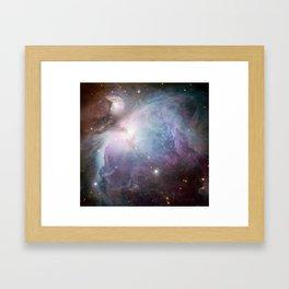 Orion Nebula Space Photo Framed Art Print