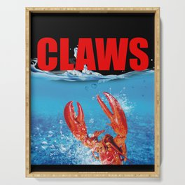 Claws Funny Claws Lobster Jaws Creature Serving Tray