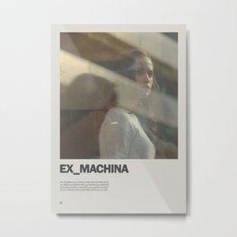Ex Machina Minimal Movie Poster No 03 Metal Print