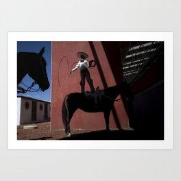 Charreria Art Print