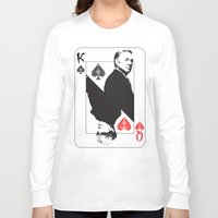 house of cards Long Sleeve T-shirts featuring House Of Cards by capperflapper