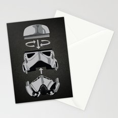 construct-a-trooper. Stationery Cards