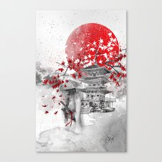 the warrior path Canvas Print