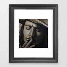 Johnny Depp Framed Art Print