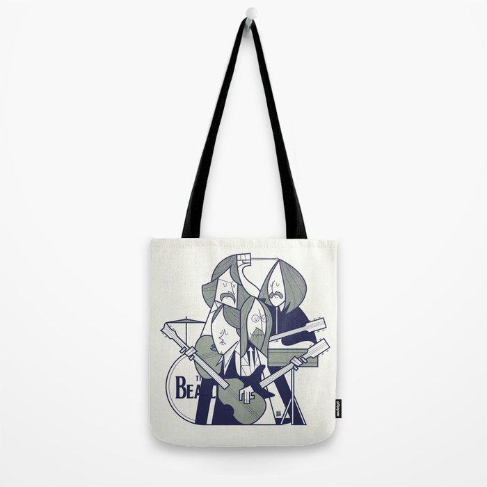 Fab Four Tote Bag