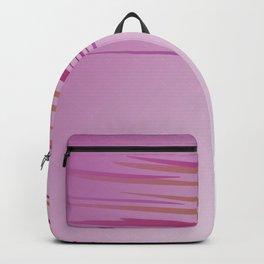 wild tiger lines Pink pinksie Backpack