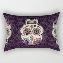 Sugar Skull Art Rectangular Pillow