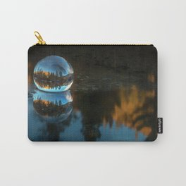 Refraction and Reflection Meet  Castle Lake reflections on the water Carry-All Pouch