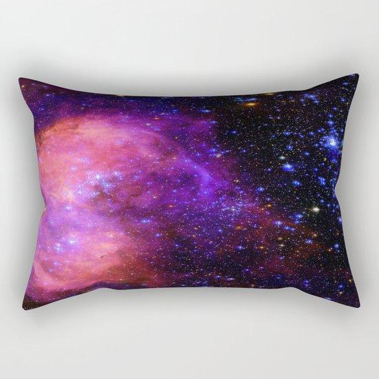 NebUla. Pink Violet Blue Rectangular Pillow