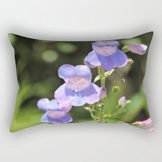 California Native Penstemon Rectangular Pillow