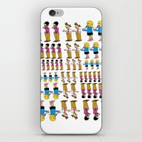 greg guillemin iPhone & iPod Skins featuring Greg + 2012 by Reid