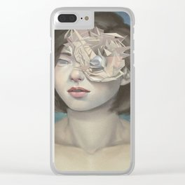 Vertices Clear iPhone Case