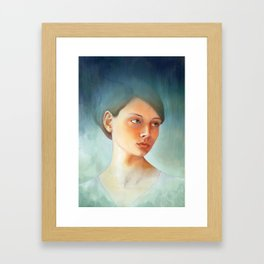 Wash Away Framed Art Print