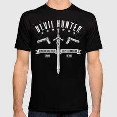 Devil Hunter Mens Fitted Tee LARGE Black