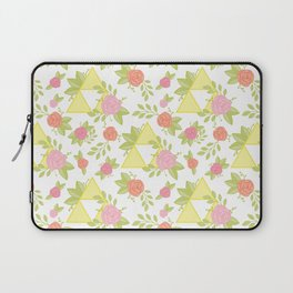 Garden of Power, Wisdom, and Courage Pattern Laptop Sleeve