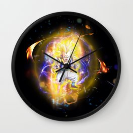 Gotenks SSJ3 Wall Clock