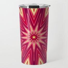 Neon Burst Travel Mug