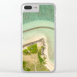 Kualoa From Above Clear iPhone Case
