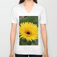 sunshine V-neck T-shirts featuring Sunshine  by IowaShots