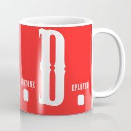 RED(R.E.D.) Coffee Mug