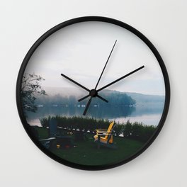 Muskoka before Dusk Wall Clock