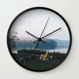 Muskoka before Dusk Wall Clock