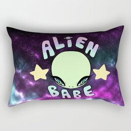 alien baebe Rectangular Pillow
