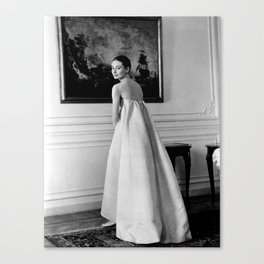 Audrey Vintage Canvas Print